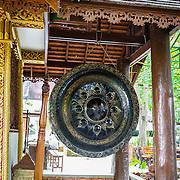 THA/Bangkok/20160729 - Vakantie Thailand 2016 Bangkok, Gong in Thaise tempel