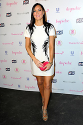 Image ©Licensed to i-Images Picture Agency. 10/06/2014. London, United Kingdom. Linzi Stoppard arriving at the Superdrug 50th Anniversary Party at The Bankside Vaults, Southbank. Picture by Chris Joseph / i-Images