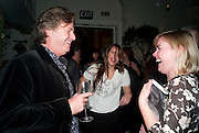 DANNY MOYNIHAN; VIOLET HUDSON; , Party for Perfect Lives by Polly Sampson. The 20th Century Theatre. Westbourne Gro. London W11. 2 November 2010. -DO NOT ARCHIVE-© Copyright Photograph by Dafydd Jones. 248 Clapham Rd. London SW9 0PZ. Tel 0207 820 0771. www.dafjones.com.