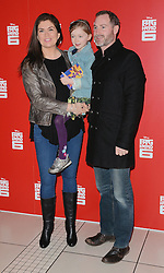 Amanda Lamb, Willow Rose and Sean McGuinness attend Big Hero 6 3D Gala Film Screening at The Odeon, Leicester Square, London on Sunday 18 January 2015