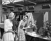 1958 Flowers at the RDS Horse Show