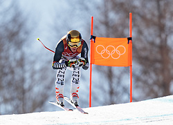 13.02.2018, Jeongseon Alpine Centre, Pyeongchang, KOR, PyeongChang 2018, Ski Alpin, Herren, Kombination, im Bild Linus Strasser (GER) // Linus Strasser of Germany during the Mens Ski Men's Alpine Combined of the Pyeongchang 2018 Winter Olympic Games at the Jeongseon Alpine Centre in Pyeongchang, South Korea on 2018/02/13. EXPA Pictures © 2018, PhotoCredit: EXPA/ Johann Groder