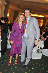 ROHAN & KATHERINE BLACKER he is co-founder of Sofa.com at a dinner in aid of the charity Save The Rhino held at ZSL London Zoo, Regents Park, London on 16th October 2012.