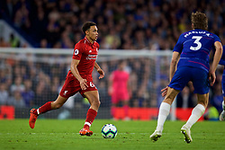 LONDON, ENGLAND - Saturday, September 29, 2018: Liverpool's Trent Alexander-Arnold during the FA Premier League match between Chelsea FC and Liverpool FC at Stamford Bridge. (Pic by David Rawcliffe/Propaganda)