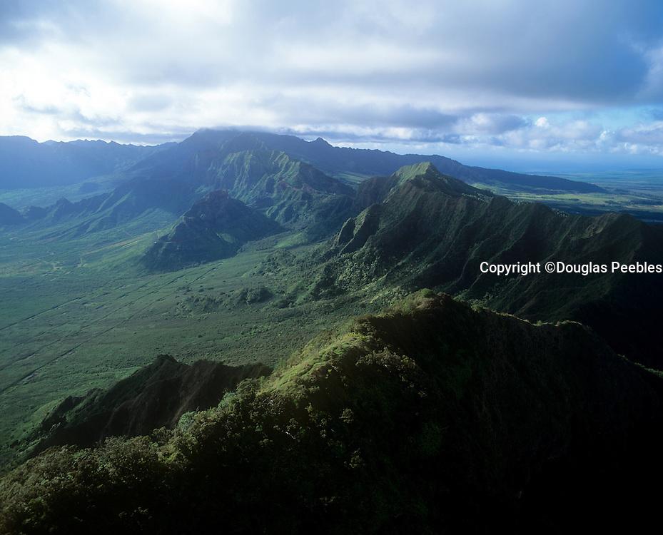 Waianae Mountains, Oahu, Hawaii