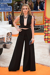 © Licensed to London News Pictures. 19/05/2016.  TALLIA STORM attends The Nice Guys UK film premiere. London, UK. Photo credit: Ray Tang/LNP