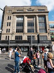 Exterior of House of Fraser department store on Princes Street in Edinburgh, Scotland, UK