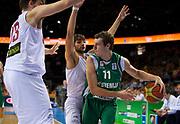 DESCRIZIONE : Kaunas Lithuania Lituania Eurobasket Men 2011 Quarter Final Round Spagna Slovenia Spain Slovenia<br /> GIOCATORE : Goran Dragic<br /> CATEGORIA : palleggio<br /> SQUADRA : Spagna Spain Slovenia<br /> EVENTO : Eurobasket Men 2011<br /> GARA : Spagna Slovenia Spain Slovenia<br /> DATA : 14/09/2011<br /> SPORT : Pallacanestro <br /> AUTORE : Agenzia Ciamillo-Castoria/T.Wiendesohler<br /> Galleria : Eurobasket Men 2011<br /> Fotonotizia : Kaunas Lithuania Lituania Eurobasket Men 2011 Quarter Final Round Spagna Slovenia Spain Slovenia<br /> Predefinita :
