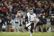 Ole Miss vs. Texas A&M quarterback Johnny Manziel (2) in Oxford, Miss. on Saturday, October 6, 2012. Texas A&M won 30-27...