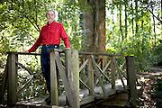 Allen DeHart at DeHart Botanical Gardens in Louisburg, NC.
