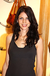 Model LIBERTY ROSS at a party to celebrate the opening of the new H&M Flagship Store at 17-21 Brompton Road, London SW3 on 23rd March 2005.<br />