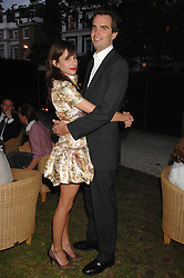 FRITZ VON WESTENHOLZ and CAROLINE SIEBER at a party to celebrate Le Touessrok a luxury resort in Mauritius, held at The Hempel, 31-35 Craven Hill Gardens, London W2 on 12th June 2007.<br /><br />NON EXCLUSIVE - WORLD RIGHTS