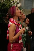 "Silvia Ziranek, Bell and Langlands ""Superactivei2i"" Somersett House. London. 6 September 2007. .-DO NOT ARCHIVE-© Copyright Photograph by Dafydd Jones. 248 Clapham Rd. London SW9 0PZ. Tel 0207 820 0771. www.dafjones.com."