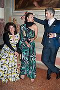 DANIELA HELAYEL ; INGE THERON; JUAN SANTA CRUZ, preview of Pinchuk Foundation's Future Generation Art Prize,     Palazzo Contarini PolignacVenice. Venice Bienalle. Thursday 30 May).