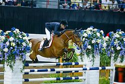 Baryard-Johnsson Malin, SWE, Butterfly Flip<br /> World Cup Final Jumping - Las Vegas 2003<br /> © Hippo Foto - Dirk Caremans