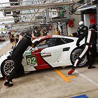 #92 Porsche 911 RSR, Porsche AG Team Manthey, drivers: Dumas, Lieb, Lietz, Le Mans 24H 2013