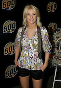 Singer and Dancing with the Stars professional Julianne Hough seen at the 92nd running of the Indianapolis 500 on May 25, 2008. Photo by Michael Hickey
