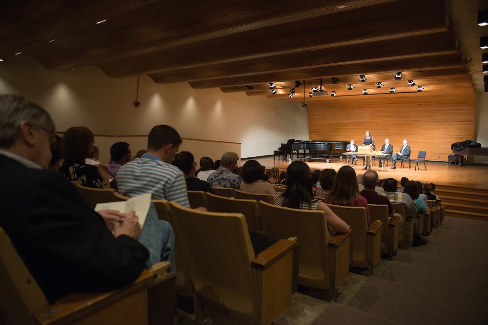 Phi Beta Kappa Honors Society Glidden Hall Music Recital Room