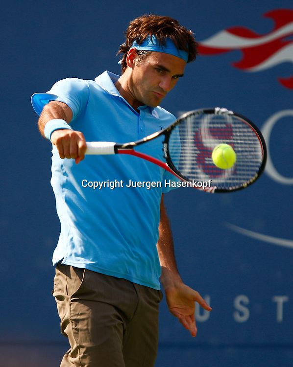 US Open 2010, USTA Billie Jean National Tennis.Center, New York,ITF Grand Slam Tennis Tournament . Roger Federer (SUI)