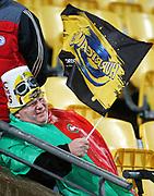 Fans. Round 18 Super Rugby match, Hurricanes v Blues. Westpac Stadium, Wellington. Saturday 7th July 2018. © Copyright Photo: Grant Down / www.photosport.nz