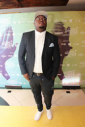 08/09/2018<br /> Comedian Skhumba Hlophe is seen on the Yellow carpet arrivals at the 2018 Savanna Comics Choice Awards, LYRIC Theatre, Goldreef City, Johannesburg.<br /> Picture: Nhlanhla Phillips/African News Agency/ANA