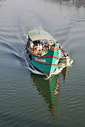 India, Kerala backwaters, A Traditional Rice Boat