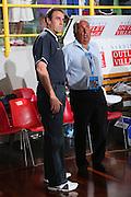 DESCRIZIONE : Cagliari Torneo Internazionale Sardegna a canestro Italia Estonia <br /> GIOCATORE : Carlo Recalcati Fusto Maifredi <br /> SQUADRA : Nazionale Italia Uomini Italy <br /> EVENTO : Raduno Collegiale Nazionale Maschile <br /> GARA : Italia Estonia Italy Estonia <br /> DATA : 13/08/2008 <br /> CATEGORIA : Ritratto <br /> SPORT : Pallacanestro <br /> AUTORE : Agenzia Ciamillo-Castoria/S.Silvestri <br /> Galleria : Fip Nazionali 2008 <br /> Fotonotizia : Cagliari Torneo Internazionale Sardegna a canestro Italia Estonia <br /> Predefinita :