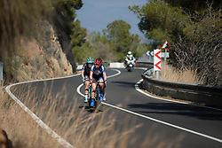 Eileen Roe (GBR) of WNT Rotor Pro Cycling tries to regain contact with the front group on Stage 3 of the Setmana Ciclista Valenciana - a 137 km road race, between Sagunt and Valencia on February 24, 2018, in Valencia, Spain. (Photo by Balint Hamvas/Velofocus.com)