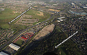 aerial photograph of Low  Wincobank   Sheffield West Yorkshire England UK