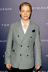 Freddie Fox at the opening of the new Tommy Hilfiger store on in London on Thursday 1st December 2011. Photo by: i-Images