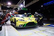 June 12-17, 2018: 24 hours of Le Mans. 97 Aston Martin Racing, Aston Martin Vantage, Jonathan Adam, Alex Lynn, Maxime Martin