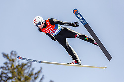24.02.2019, Bergiselschanze, Innsbruck, AUT, FIS Weltmeisterschaften Ski Nordisch, Seefeld 2019, Skisprung, Herren, Teambewerb, Wertungssprung, im Bild Halvor Egner Granerud (NOR) // Halvor Egner Granerud of Norway during the competition jump for the men's skijumping Team competition of FIS Nordic Ski World Championships 2019 at the Bergiselschanze in Innsbruck, Austria on 2019/02/24. EXPA Pictures © 2019, PhotoCredit: EXPA/ Stefanie Oberhauser