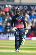 Jason Roy of England during the One Day International match between England and Ireland at the Brightside County Ground, Bristol, United Kingdom on 5 May 2017. Photo by Graham Hunt.