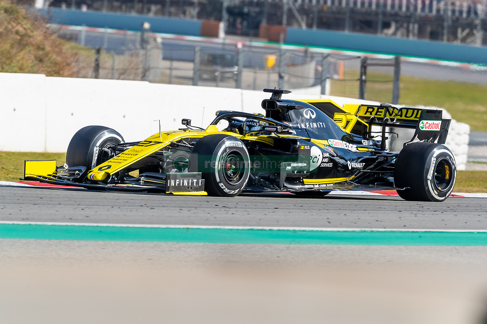 February 18, 2019 - Montmelo, Catalonia, Spain - Nico Hulkenberg of Renault F1 Team seen in action during the afternoon session of the first day of F1 Test Days in Montmelo circuit. (Credit Image: © Javier MartíNez De La Puente/SOPA Images via ZUMA Wire)