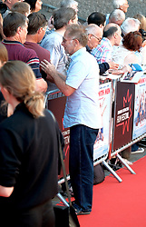 Edinburgh Film Festival, Sunday 1st July 2018<br /> <br /> SWIMMING WITH MEN (UK Premiere - Closing Night Gala)<br /> <br /> Pictured:  Jane Horrocks arrived with actor Danny Webb<br /> <br /> Alex Todd   Edinburgh Elite media