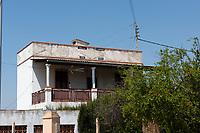 A home in an orange grove in Castellon de la Plana, Spain, was bulit in 1965