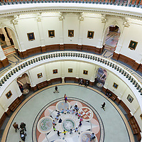 School Kids Visit Texas Capitol