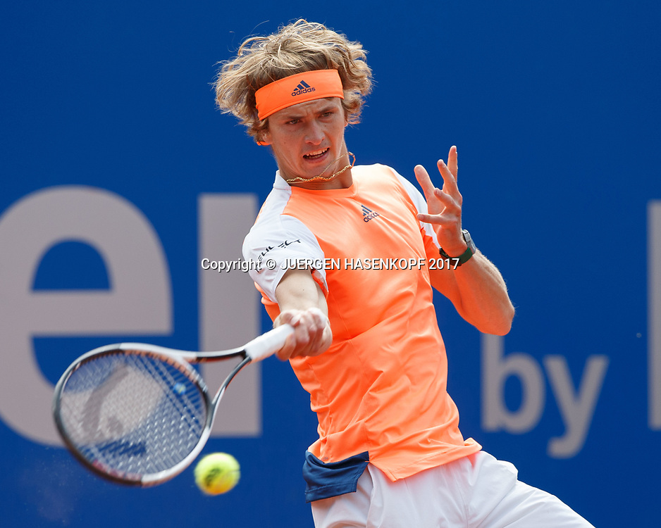 ALEXANDER ZVEREV (GER)<br /> <br /> Tennis - BMW Open 2017 -  ATP  -  MTTC Iphitos - Munich -  - Germany  - 5 May 2017.