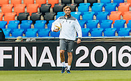 Head coach Jurgen Klopp pictured during Liverpool training ahead of the Europa League Final at St. Jakob-Park, Basel<br /> Picture by EXPA Pictures/Focus Images Ltd 07814482222<br /> 17/05/2016<br /> ***UK &amp; IRELAND ONLY***<br /> EXPA-FEI-160517-0056.jpg
