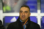 Sheffield Wednesday Manager Carlos Carvalhal during the EFL Sky Bet Championship match between Birmingham City and Sheffield Wednesday at St Andrews, Birmingham, England on 27 September 2017. Photo by John Potts.
