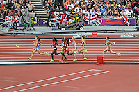 STRATFORD - AUGUST 09: Women's 800m semi-finals, Olympic Stadium, Stratford, London, UK. August 09, 2012. (Photo by Richard Goldschmidt)