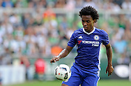 Willian of Chelsea during the pre season friendly match at Weserstadion, Bremen, Germany.<br /> Picture by EXPA Pictures/Focus Images Ltd 07814482222<br /> 07/08/2016<br /> *** UK & IRELAND ONLY ***<br /> EXPA-EIB-160807-0241.jpg