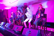 Alabama 3 play the HMV party at the Galway Film Fleadh in the Radisson blu Hotel. Photo:Andrew Downes