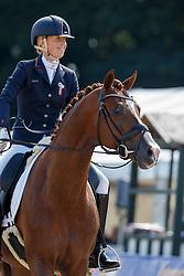Brouwer Kirsten, (NED), Eye Catcher 6<br /> Final 6 years old horses<br /> World Championship Young Dressage Horses - Verden 2015<br /> © Hippo Foto - Dirk Caremans<br /> 09/08/15