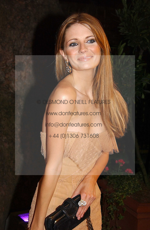Actress MISCHA BARTON at The Summer Ball in Berkeley Square , Londin W1 in aid of the Prince's Trust on 6th July 2006.<br />