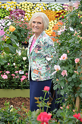 MARY BERRY at the 2015 RHS Chelsea Flower Show at the Royal Hospital Chelsea, London on 18th May 2015.