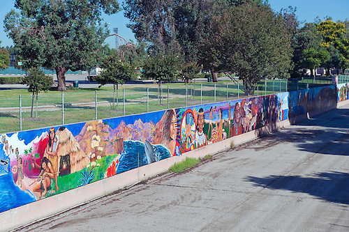 Great Wall Mural, Los Angeles, CA, Tujunga Wash, Sub Watershed, San. Part 85