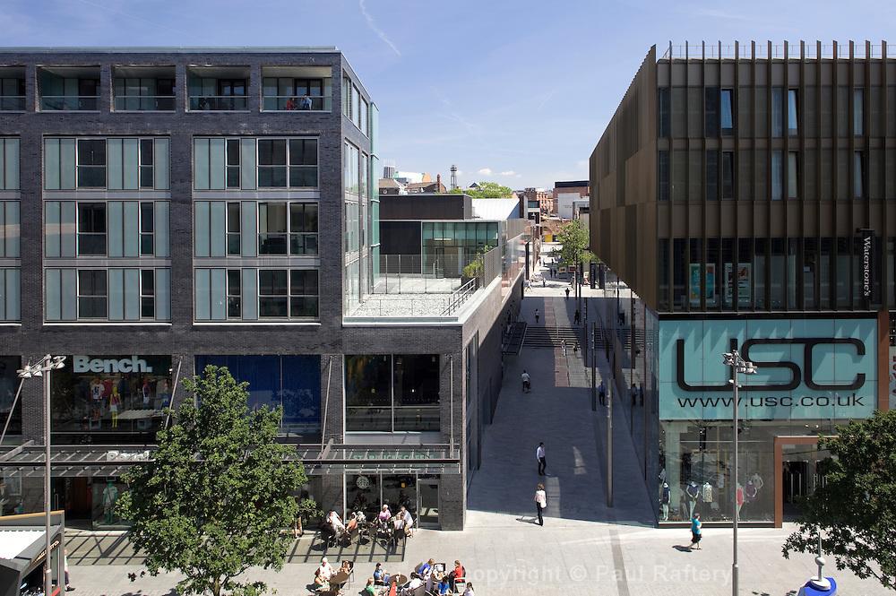 New shopping quartier Liverpool