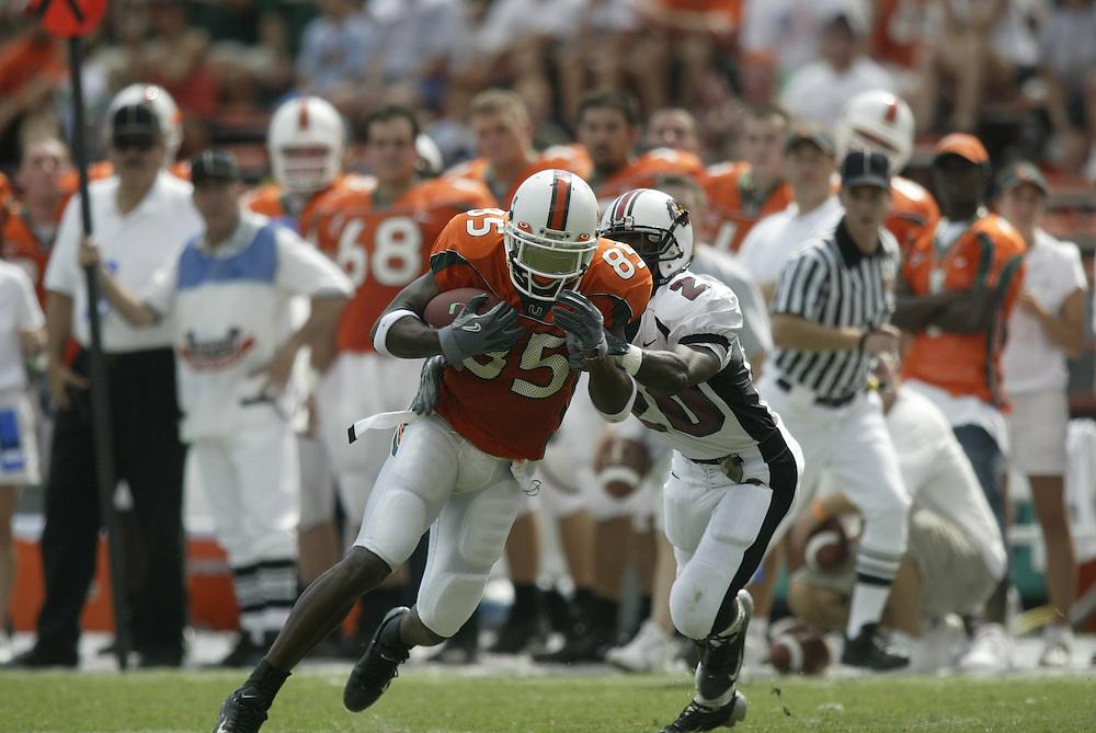 2003 Miami Hurricanes Football vs Temple