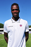 Michel Espinosa - 07.08.2015 - Evian Thonon / Clermont - 2eme journee de Ligue 2<br /> Photo : Philippe Lebrech / Icon Sport